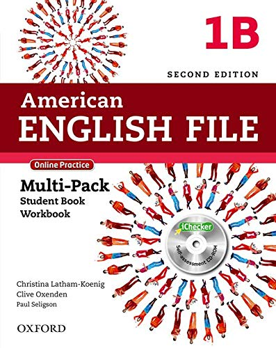 9780194776233: American English File Second Edition: Level 1 Multi-Pack B: With Online Practice and iChecker