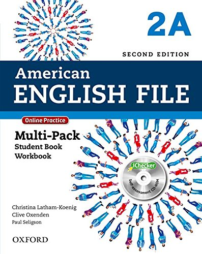 9780194776240: American English File Second Edition: Level 2 Multi-Pack A: With Online Practice and iChecker