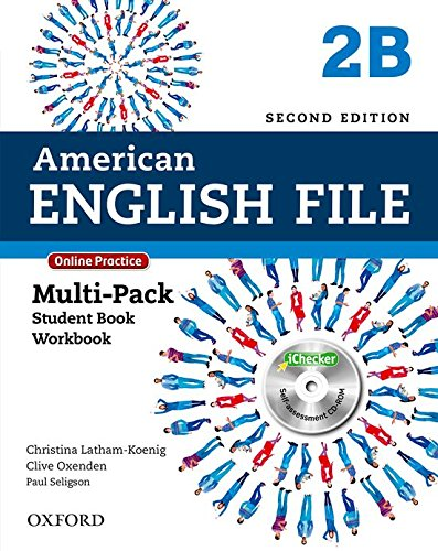 9780194776257: American English File Second Edition: Level 2 Multi-Pack B: With Online Practice and iChecker