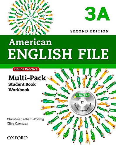 9780194776264: American English File Second Edition: Level 3 Multi-Pack A: With Online Practice and iChecker