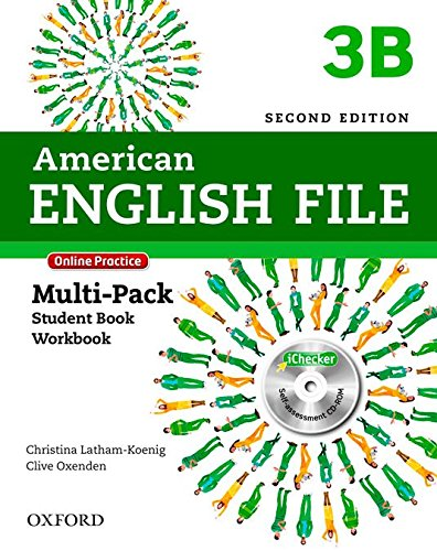 9780194776271: American English File Second Edition: Level 3 Multi-Pack B: With Online Practice and iChecker