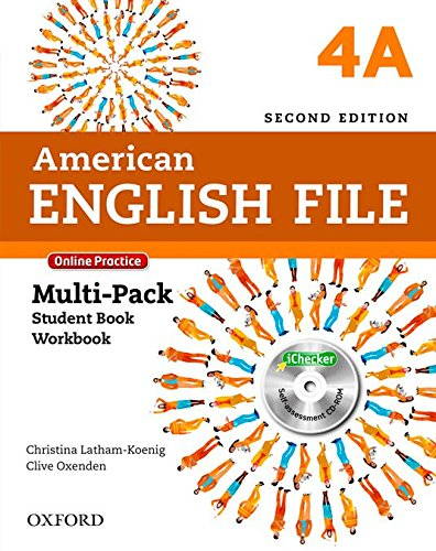 9780194776288: American English File Second Edition: Level 4 Multi-Pack A: With Online Practice and iChecker