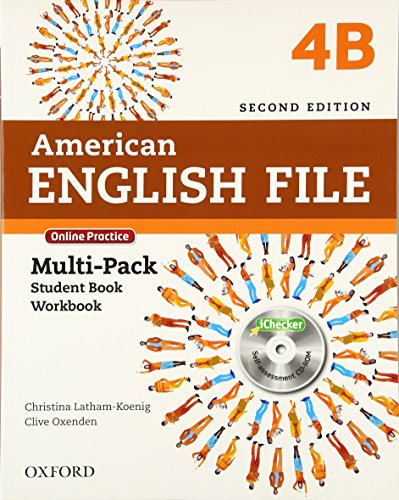 9780194776295: American English File 4: Multipack B 2ª Edición (American English File Second Edition)
