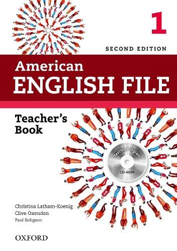 9780194776332: American English File 2nd Edition 1. Teacher's Book (American English File Second Edition)