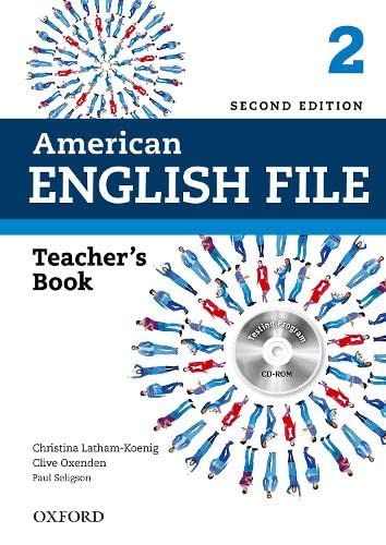 9780194776349: American English File 2E 2 Teacher book: With Testing Program