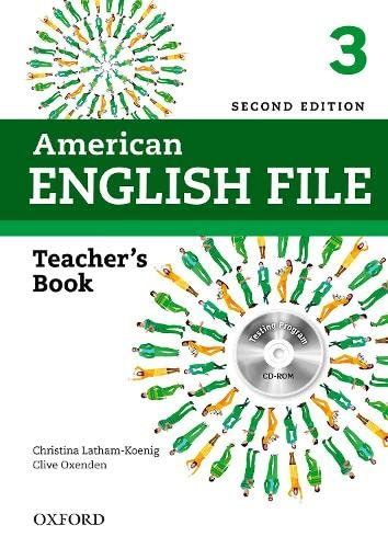 9780194776356: American English File 2E 3 Teacher Book: With Testing Program