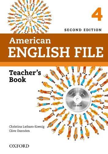 9780194776363: American English File: 4: Teacher's Book with Testing Program CD-ROM