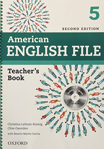 9780194776370: American English File 2E 5 Teacher's Book: With Testing Program