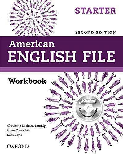 9780194776387: American English File: Starter: Workbook with iChecker