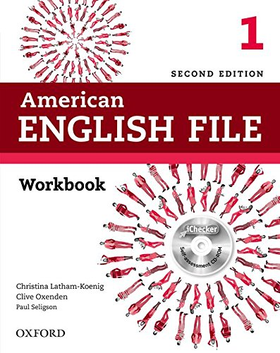 9780194776394: American English File 1: Workbook with iChecker 2nd Edition (American English File Second Edition)