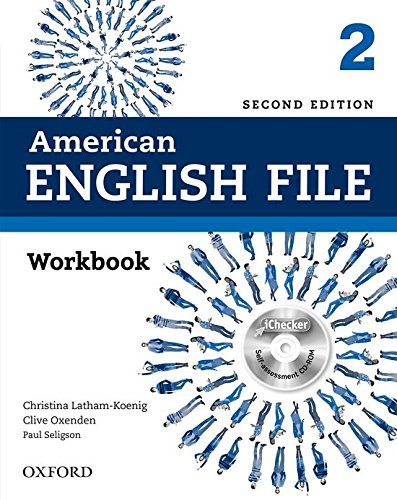 9780194776400: American English File: Level 2: Workbook with iChecker