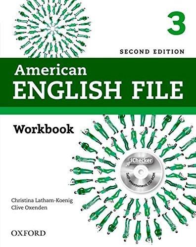 9780194776417: American English File: 3: Workbook with iChecker