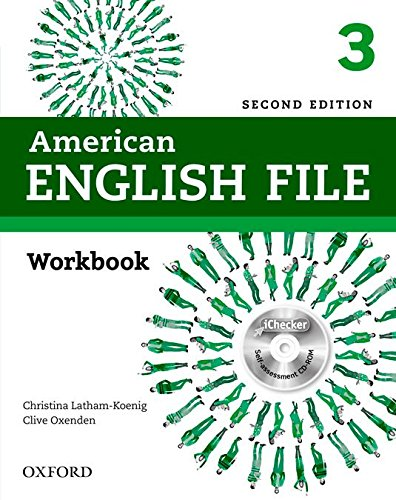 9780194776417: American English File Second Edition: Level 3 Workbook: With iChecker