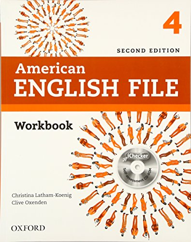 9780194776424: American English File Second Edition: Level 4 Workbook: with iChecker