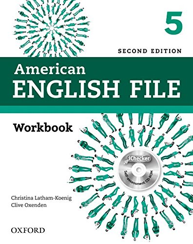 9780194776431: American English File Second Edition: Level 5 Workbook: With iChecker