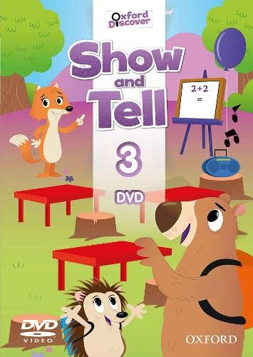 9780194779333: Show and Tell: Level 3: DVD [VHS]