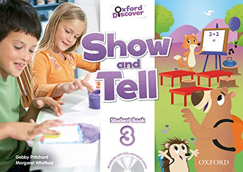 9780194779364: Show and Tell: Level 3: Student Book and MultiROM Pack