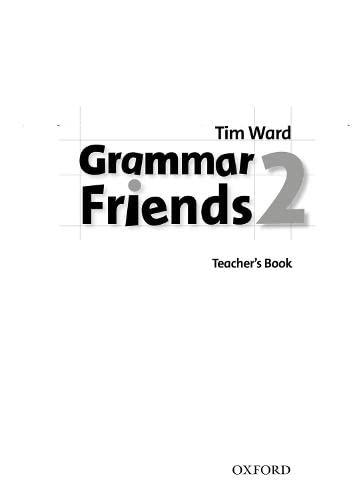 9780194780070: Grammar Friends 2: Teacher's Book