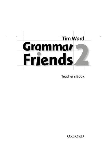 9780194780070: Grammar Friends 2: Teacher's Book