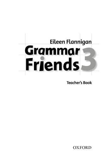 9780194780087: Grammar Friends 3: Teacher's Book