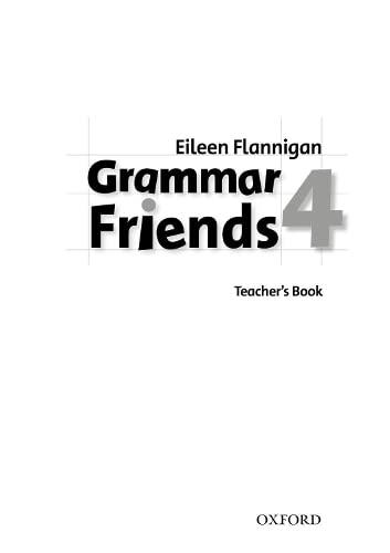 9780194780094: Grammar Friends 4: Teacher's Book