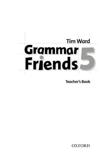 9780194780100: Grammar Friends 5: Teacher's Book