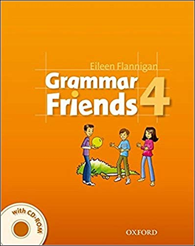 9780194780155: Grammar Friends 4: Student's Book with CD-ROM Pack
