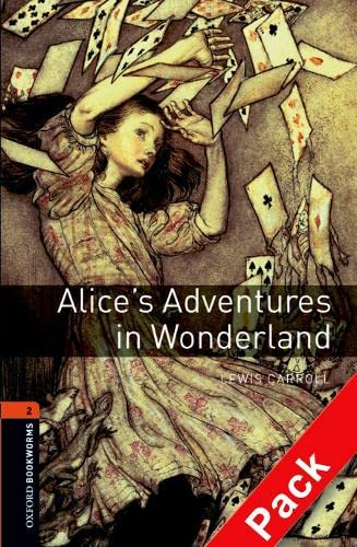 9780194790130: Oxford Bookworms Library: Oxford Bookworms. Stage 2: Alice's Adventures in Wonderland CD Pack ED08: 700 Headwords