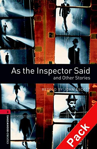 9780194792929: Oxford Bookworms Library: Level 3:: As the Inspector Said and Other Stories audio CD pack (Oxford Bookworms ELT)