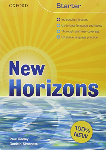 9780194795029: New Horizons Student's Book and Workbook