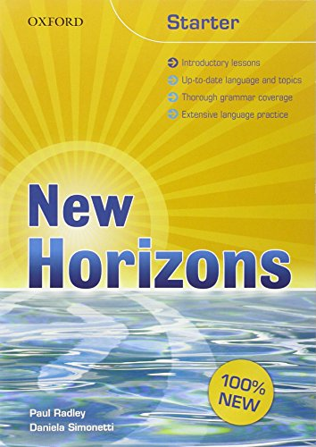 9780194795036: NEW HORIZONS vol. 1 in 3 tomi