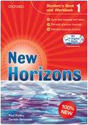 9780194795241: New horizons. Student's book-Workbook-Homework book. Per le Scuole superiori. Con CD Audio. Con espansione online: 1