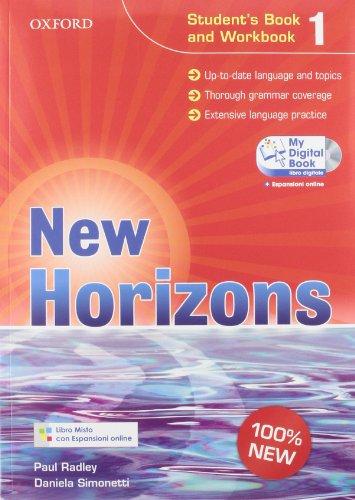 9780194795784: New horizons. Starter-Student's book-Workbook-Homework book-My digital book. Per le Scuole superiori. Con espansione online: 1