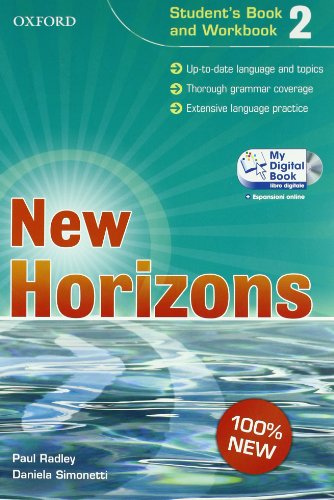 9780194795869: New horizons. Starter-Student's book-Workbook-My digital book. Per le Scuole superiori. Con CD-ROM. Con espansione online: 2