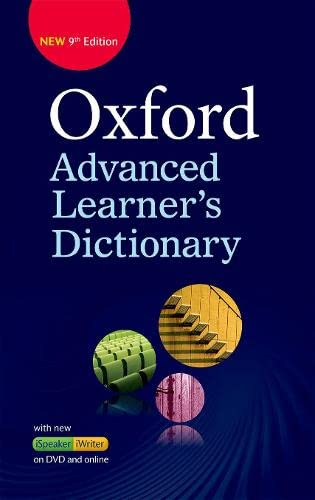 9780194798785: Oxford Advanced Learner's Dictionary: Oxf Advanced Learner'S Dict 9E Hb+Dvd-R+OL Ac (División Académica)