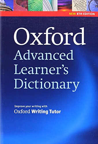 Oxford Advanced Learner's Dictionary, 8th Edition: Paperback: Hornby,