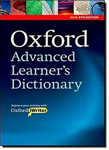 9780194799027: Oxford Advanced Learner's Dictionary, 8th Edition: Paperback with cd-rom (includes Oxford iWriter) (Diccionarios)