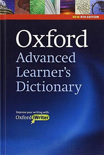 9780194799041: Oxford advanced learner's dictionary 8th edition 2010 hardback with CD-ROM