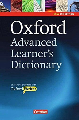 9780194799096: Oxford Advanced Learner's Dictionary - 8th Edition: B2-C2 - Wörterbuch (Festeinband) mit Writing Tutor und CD-ROM