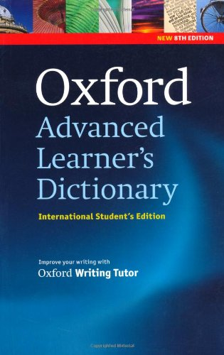9780194799126: Oxford Advanced Learner's Dictionary, 8th Edition: International Student's Edition (only available in certain markets)