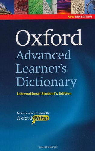 9780194799140: Oxford Advanced Learner's Dictionary, 8th Edition International Student's Edition with CD-ROM and Oxford iWriter (only available in certain markets)