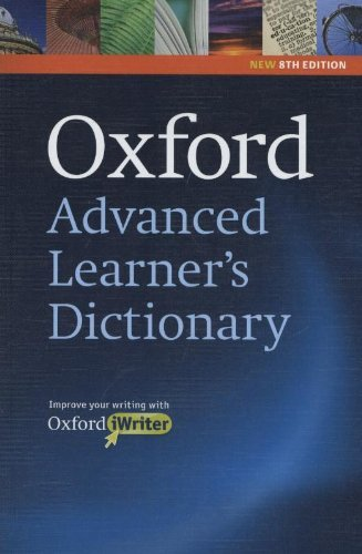 9780194799256: Oxford Advanced Learner's Dictionary (Dictionaries) 8th (eighth) edition Text Only
