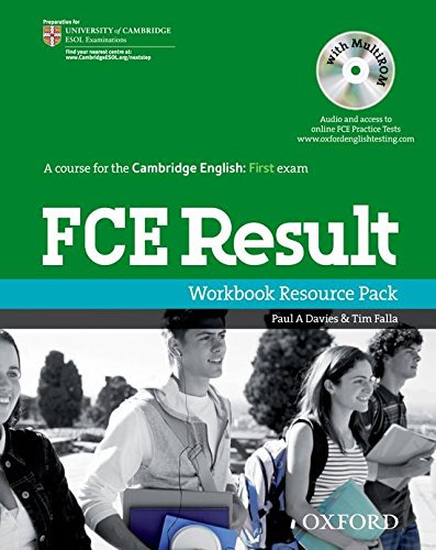 9780194800358: FCE Result: First Certificate in English Result: Workbook Resource Pack Without Key (First Result)