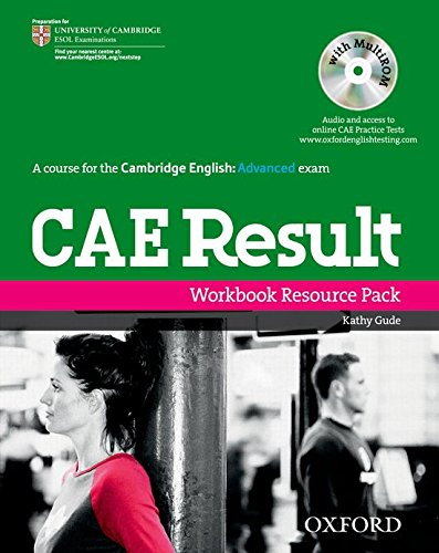 9780194800471: CAE Result Workbook No Key Pack (Result: Cae Result)