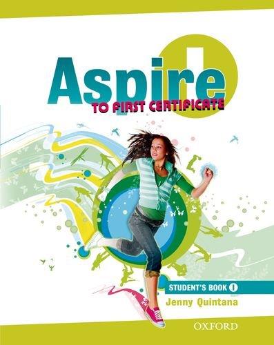 9780194800518: Aspire 1. Student's book. Per le Scuole superiori