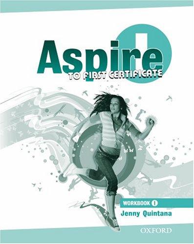 9780194800570: Aspire. Workbook. Per le Scuole superiori. Con Multi-ROM: 1