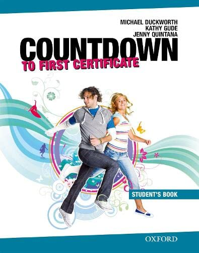 9780194801003: New Countdown to First Certificate: Student's Book