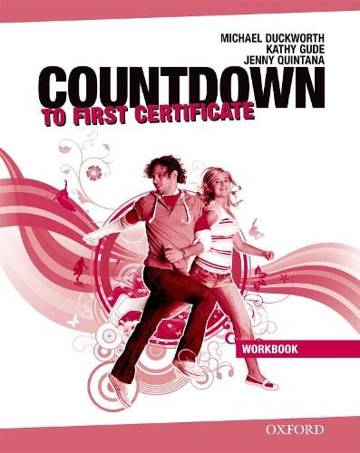 9780194801034: Countdown to First Certificate. Workbook without Key and Student's Audio CD Pack (New Countdown to First Certificate)