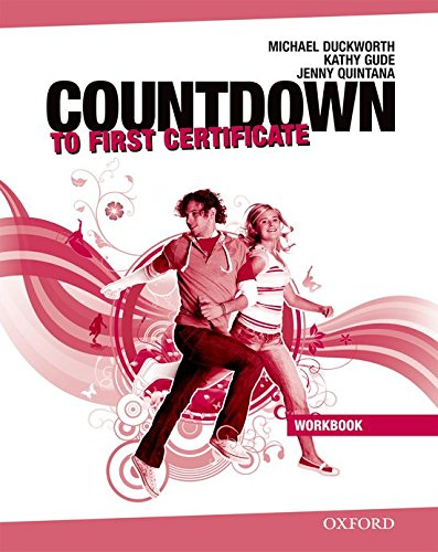 9780194801034: Countdown to First Certificate: Workbook without Key and Student's Audio CD Pack