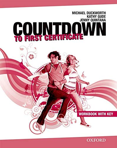 9780194801058: Countdown to First Certificate: Workbook with Key and Student's Audio CD Pack